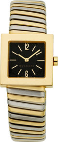 Estate Jewelry:Watches, Bvlgari Lady's Gold Wristwatch. ...