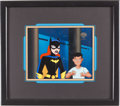 "Animation Art:Production Cel, The New Batman Adventures ""Cold Comfort"" Batgirl AnimationProduction Cel Original Art (Warner Brothers, 1997-2001)...."