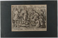 Books:Prints & Leaves, Engraved Print from The Celebrated Roman Women Series, Plate4. 1573. Approx. 8.5 x 11.75 inches. Reinforced and...