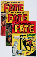 Golden Age (1938-1955):Horror, The Hand of Fate #20, 22, and 25 Group (Ace, 1954).... (Total: 3Comic Books)