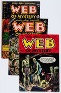 Golden Age (1938-1955):Horror, Web of Mystery #8, 20, and 27 Group (Ace, 1951-55).... (Total: 3Item)