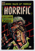Golden Age (1938-1955):Horror, Horrific #9 (Comic Media, 1954) Condition: FN+....