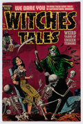 Golden Age (1938-1955):Horror, Witches Tales #8 (Harvey, 1952) Condition: FN....