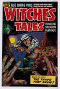 Golden Age (1938-1955):Horror, Witches Tales #27 (Harvey, 1954) Condition: FN/VF....