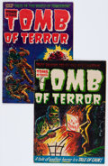 Golden Age (1938-1955):Horror, Tomb of Terror #12 and 13 Group (Harvey, 1953-54) Condition:Average VG.... (Total: 2 Comic Books)