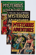 Golden Age (1938-1955):Horror, Mysterious Adventures #5, 7, and 22 Group (Story Comics,1951-54).... (Total: 3 Comic Books)