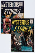 Golden Age (1938-1955):Horror, Mysterious Stories #4 and 5 Group (Premier, 1955) Condition:Average VG/FN.... (Total: 2 Comic Books)