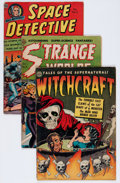 Golden Age (1938-1955):Horror, Avon Comics Science Fiction/Horror Group (Avon, 1950s).... (Total:3 Comic Books)