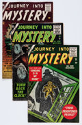 Golden Age (1938-1955):Horror, Journey Into Mystery Group (Marvel, 1955-56).... (Total: 5 ComicBooks)