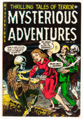 Golden Age (1938-1955):Horror, Mysterious Adventures #18 (Story Comics, 1954) Condition: FN-....