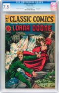Golden Age (1938-1955):Classics Illustrated, Classic Comics #32 Original Edition (Gilberton, 1946) CGC VF- 7.5 Off-white to white pages....