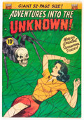 Golden Age (1938-1955):Horror, Adventures Into The Unknown #33 (ACG, 1952) Condition: FN+....