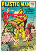 Golden Age (1938-1955):Superhero, Plastic Man #54 (Quality, 1955) Condition: FN....