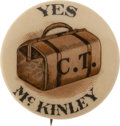 Political:Pinback Buttons (1896-present), William McKinley: Commercial Travelers Pin....
