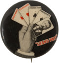 Political:Pinback Buttons (1896-present), Theodore Roosevelt: Small Size Stand Pat Button....