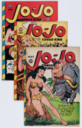Golden Age (1938-1955):Funny Animal, Jo-Jo Comics #15, 17, and 18 Group (Fox Features Syndicate, 1948)Condition: Average VG+.... (Total: 3 Comic Books)