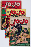 Golden Age (1938-1955):Funny Animal, Jo-Jo Comics Group (Fox Features Syndicate, 1948-49) Condition:Average VG.... (Total: 5 Comic Books)