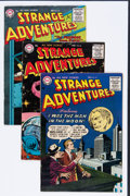 Golden Age (1938-1955):Science Fiction, Strange Adventures #63-65 Group (DC, 1955-56) Condition: AverageFN+.... (Total: 3 Comic Books)