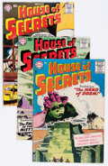 Silver Age (1956-1969):Mystery, House of Secrets Group (DC, 1956-59) Condition: Average VG....(Total: 8 Comic Books)