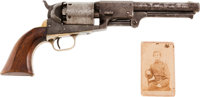 Fine Colt 3rd Model Dragoon Percussion Revolver #15603 Matching With Impeccable Provenance To Use By Lt. Col. Thomas J...