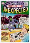 Silver Age (1956-1969):Science Fiction, Tales of the Unexpected #1 (DC, 1956) Condition: VG/FN....