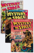 Golden Age (1938-1955):Science Fiction, Mystery in Space Group (DC, 1952-60) Condition: Average VG+....(Total: 8 Comic Books)