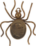 Political:Pinback Buttons (1896-present), William McKinley: Great Gold Bug Brooch....