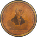 Political:3D & Other Display (pre-1896), George Washington: Early Commemorative Snuff Box....