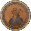 Political:3D & Other Display (pre-1896), George Washington: Early Snuff Box....