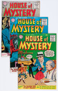 Silver Age (1956-1969):Horror, House of Mystery Group (DC, 1955-63) Condition: Average VG/FN....(Total: 11 Comic Books)