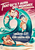 "Movie Posters:Academy Award Winners, From Here to Eternity (Columbia, R-1950s). French Grande (47"" X63"") Style A.. ..."