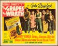 "Movie Posters:Drama, The Grapes of Wrath (20th Century Fox, 1940). Title Lobby Card (11""X 14"").. ..."