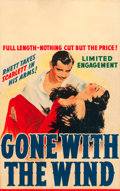 "Movie Posters:Academy Award Winners, Gone with the Wind (MGM, 1940). Window Card (14"" X 22"").. ..."