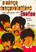 """Movie Posters:Animation, Yellow Submarine (Apple Films, 1970s). Hungarian Poster (22"""" X31.5"""").. ..."""