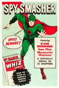 "Movie Posters:Serial, Spy Smasher (Republic, 1942). One Sheet (27"" X 41"").. ..."