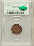Proof Indian Cents: , 1908 1C PR65 Red and Brown PCGS. CAC. PCGS Population (53/13). NGCCensus: (50/33). Mintage: 1,620. Numismedia Wsl. Price f...