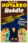"Movie Posters:Drama, Huddle (MGM, 1932). One Sheet (27"" X 41"") Style D.. ..."