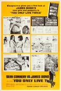 """Movie Posters:James Bond, You Only Live Twice (United Artists, 1967). Poster (40"""" X 60"""") Esquire Magazine Style.. ..."""