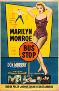 "Movie Posters:Drama, Bus Stop (20th Century Fox, 1956). Poster (40"" X 60"") Style Y.. ..."