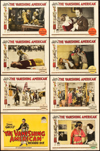"""The Vanishing American (Paramount, 1925). Lobby Card Set of 8 (11"""" X 14""""). ... (Total: 8 Items)"""