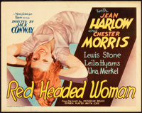 "Red Headed Woman (MGM, 1932). Title Lobby Card (11"" X 14"")"