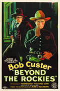 "Movie Posters:Western, Beyond the Rockies (FBO, 1926). One Sheet (27"" X 41"").. ..."
