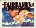 "Movie Posters:Drama, Parachute Jumper (Warner Brothers, 1932). Title Lobby Card (11"" X 14"").. ..."