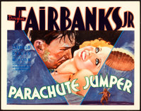 """Parachute Jumper (Warner Brothers, 1932). Title Lobby Card (11"""" X 14"""")"""