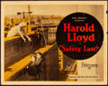 "Movie Posters:Comedy, Safety Last! (Pathé, 1923). Title Lobby Card (11"" X 14"").. ..."