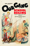 "Movie Posters:Comedy, School Begins (MGM, 1928). One Sheet (27"" X 41"").. ..."
