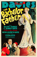 "Movie Posters:Comedy, The Bachelor Father (MGM, 1931). One Sheet (27"" X 41"").. ..."