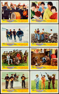 "Help! (United Artists, 1965). Lobby Card Set of 8 (11"" X 14""). ... (Total: 8 Items)"