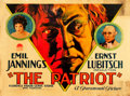 """Movie Posters:War, The Patriot (Paramount, 1928). Half Sheet (22"""" X 28"""") Style A.. ..."""