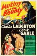"Movie Posters:Academy Award Winners, Mutiny on the Bounty (MGM, 1935). One Sheet (27"" X 41"") Style C.. ..."